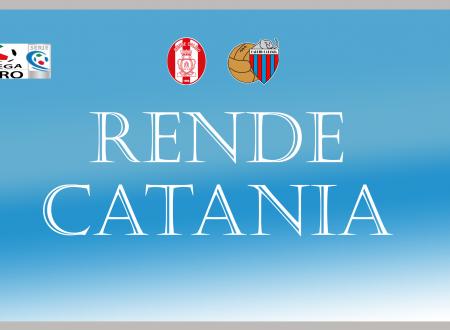 Il Catania ricomincia da tre